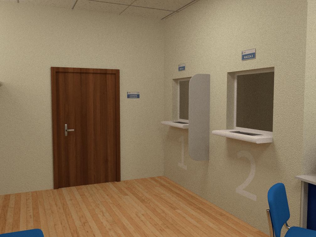 Дизайн навигации офиса